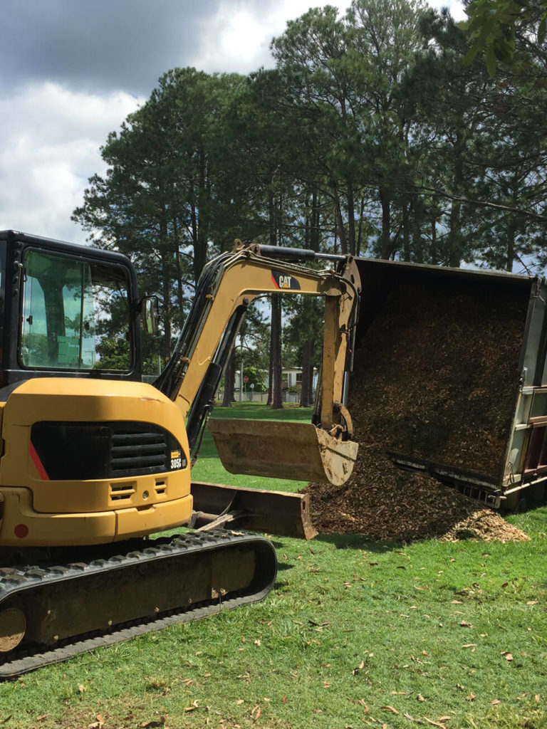 NS Earthmoving - Backhoe and Excavator