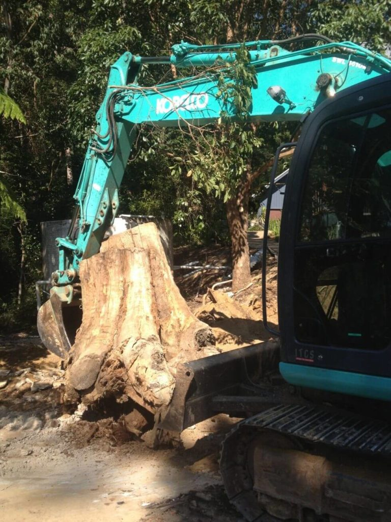 NS Earthmoving - Land Clearing and Stump Removal