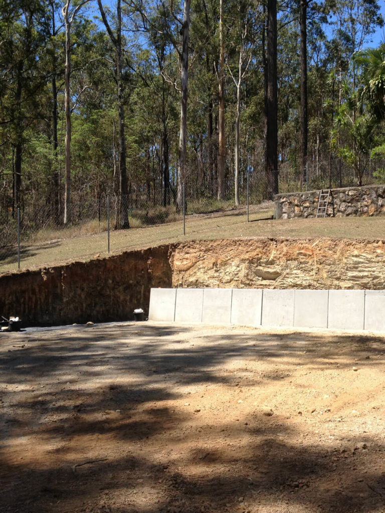 NS Earthmoving - Retaining Walls Construction