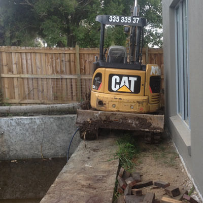 NS Earthmoving Services - Swimming Pools