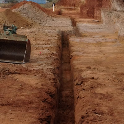 NS Earthmoving Services - Trenching